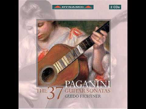 Paganini - The 37 guitar sonatas (full album)