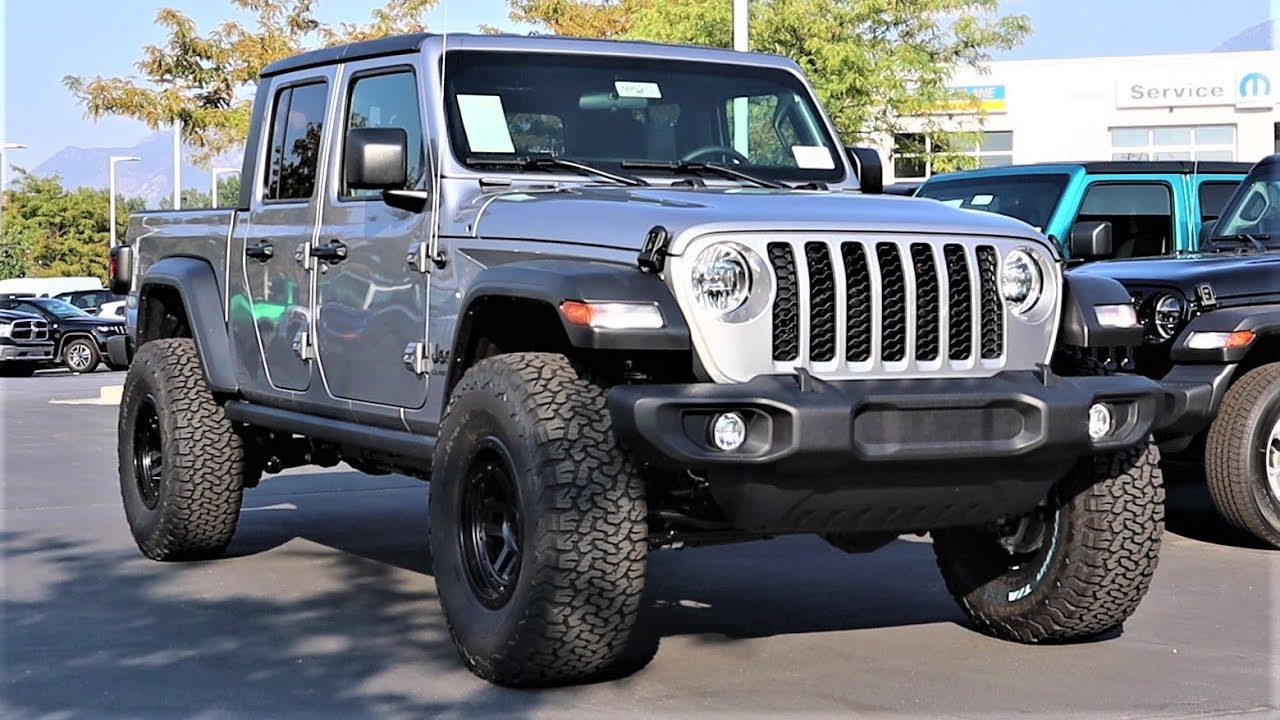 Lifted 2020 Jeep Gladiator Sport S: How Does A Lifted Gladiator Drive?