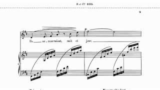 20190218 レイナルド・アーン:「もし私の詩に翼があれば」(ピアノソロ版)