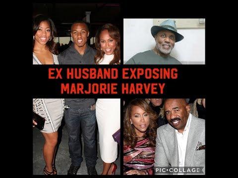 Steve Harvey & Marjorie Divorcing?   Marjorie Ex-Husband Writes TELL-ALL MEMOIR!