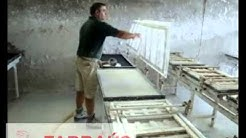 MANUAL CEILING PRODUCTION LINE - FARRAUS TECHNOLOGY FOR GYPSUM INDUSTRY