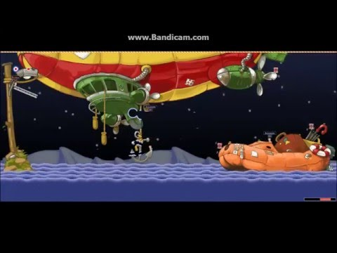 Worms World Party Remastered Custom Mission Dread Zeppelin |