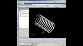 Как создать спираль и резьбу в КОМПАС-3D