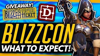 Overwatch | BLIZZCON What To Expect + VIRTUAL TICKET GIVEAWAY (OW Expansion? Diablo 4?)