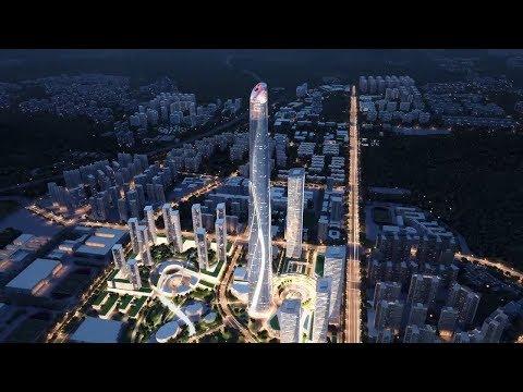 Shenzhen Hong-Kong International Centre Video