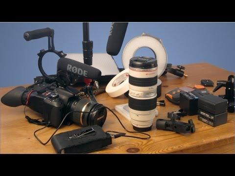 Filmmaking Gear - Camera, Audio and Lighting