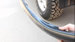 Расширители колесных арок Mitsubishi L200 Triton (www.russ-artel.ru)(Расширители колесных арок на Mitsubishi L200 устанавливаются в штатные места без сверления крыла. В комплекте..., 2012-04-24T07:21:26.000Z)