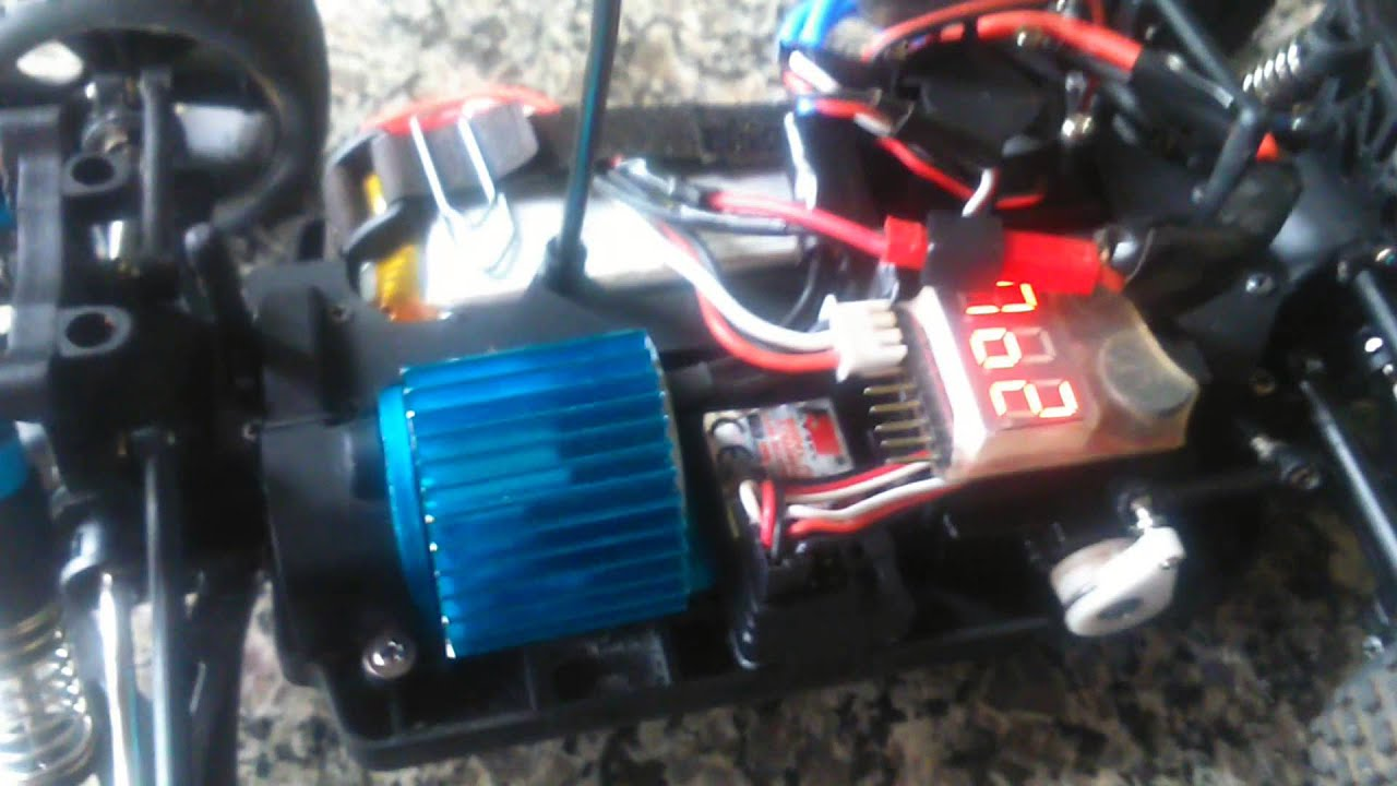 Wltoys A959 97km Brushless Youtube