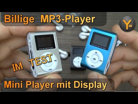 billig mp3 player im test mini player mit display clip. Black Bedroom Furniture Sets. Home Design Ideas