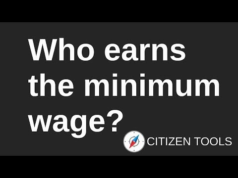 Who Earns the Minimum Wage?
