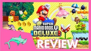 NEW SUPER MARIO BROS. U DELUXE REVIEW! | Upside Down Shark
