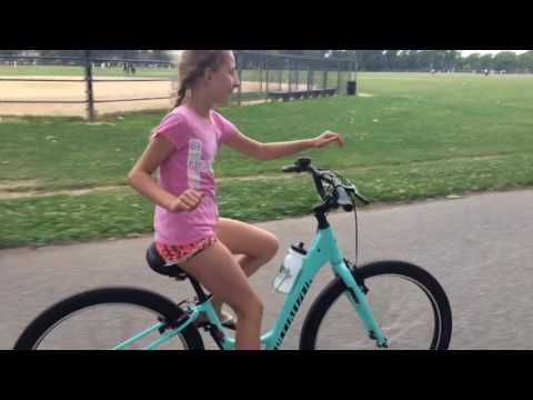 Biking no hands