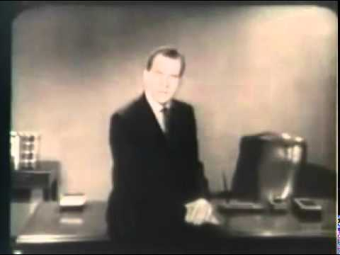Dealing with Khrushchev Commercial- Richard Nixon 1960 Presidential Campaign Election Ad