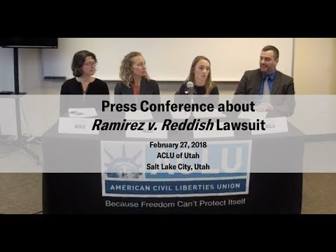 Press Conference about Ramirez v. Reddish Lawsuit (2/27/2018)