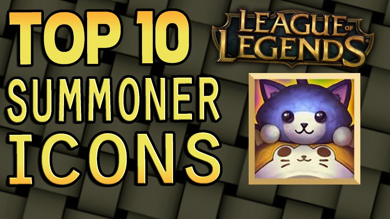 top 10 summoner icons league of legends. Black Bedroom Furniture Sets. Home Design Ideas