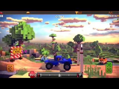 #Blocky Roads #4x4 #Fully upgrade level - Android Game Play HD |