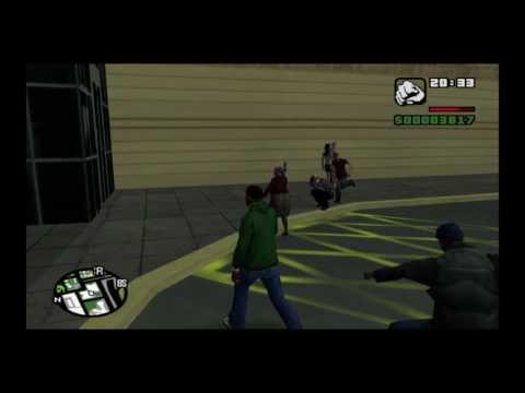 GTA: San Andreas : Grandma Goes Crazy