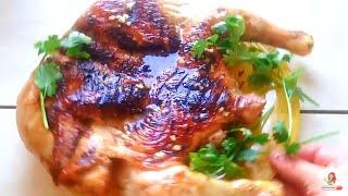 КАК ВКУСНО ПРИГОТОВИТЬ курицу на сковороде.РЕЦЕПТЫ ИЗ КУРИЦЫ .Цыпленок Табака