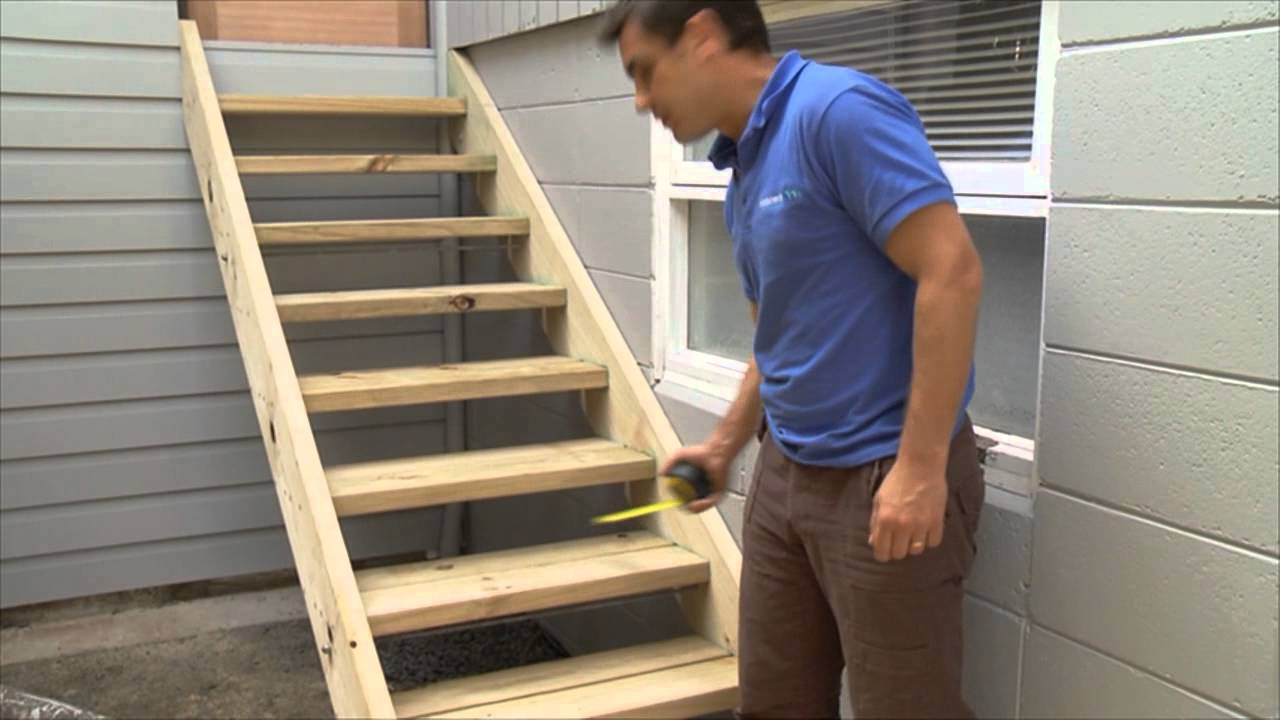 how to build stairs - Building Stairs