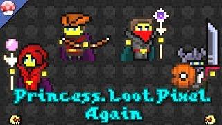 полное прохождение игры Princess Loot Pixel Again by EniSyy