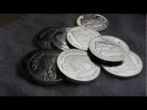American buffalo silver rounds