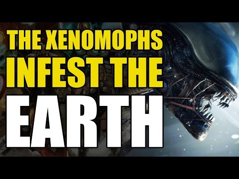 The Aliens/Xenomorphs Overrun The Earth (Aliens Book 2: Nightmare Asylum)
