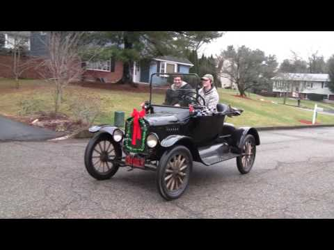 CRUISING IN 1919 FORD MODEL T