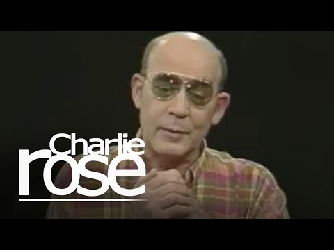 Hunter S. Thompson / Isabella Rossellini | Charlie Rose