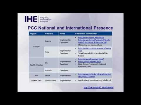 IHE Webinar Series 2016: Patient Care Coordination (PCC) Domain Update