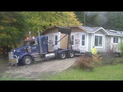 Modular Home Delivered and Set Up