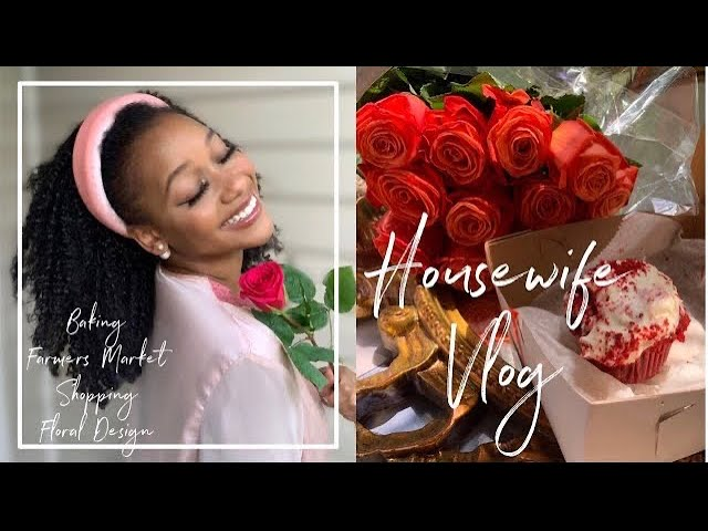 Day in the life of a Black Homemaker Vlog🎀  Feminine Hobbies, Home Decor, Dior Makeup Married at 21