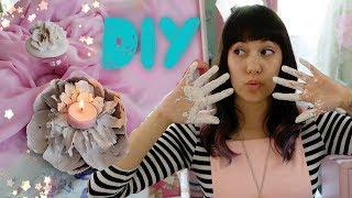 DIY I Porzellan Rosen aus Gips