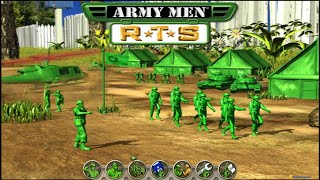 Army Men RTS (2002) gameplay (PC Game, 2002)
