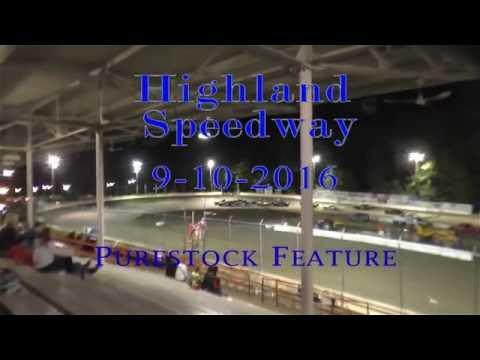 091016 Highland Speedway Purestock Feature