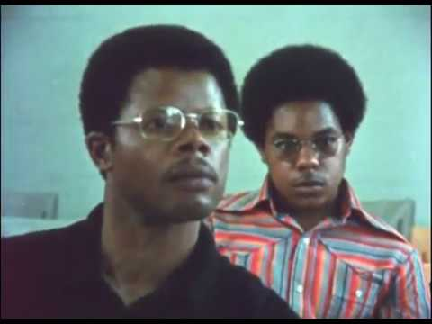 Dr. Russell L.  Adams Teaching Afro-American Studies, 1973