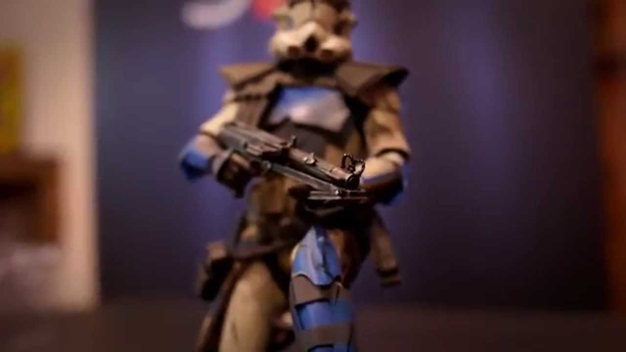 Sideshow Collectibles Arc Clone Trooper: Fives Phase II