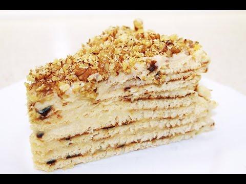 Быстрый ТОРТ НА СКОВОРОДЕ с заварным кремом / Cake in Pan Recipe - No Oven Needed
