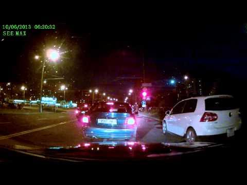 Видеорегистратор SeeMax DVR RG500 ночная съемка