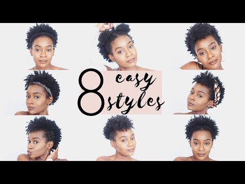 8 Easy Protective Hairstyles For Short Natural 4c Hair That Will