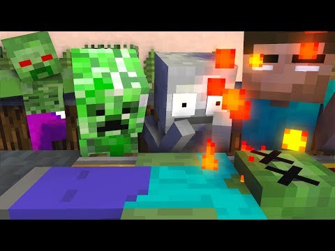 Monster School : RIP ZOMBIE APOCALYPSE Challenge - Minecraft Animation
