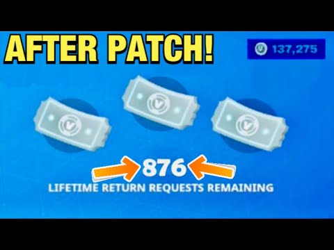 **WORKING** How To Get MORE REFUNDS In Fortnite Chapter 2 Season 2! (Refund Tickets System Glitch)