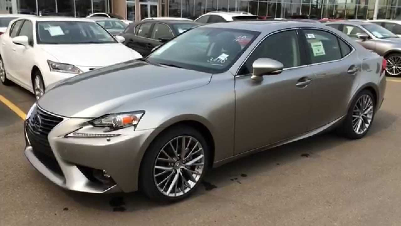 2015 Lexus IS 250 AWD Premium Package Review - Atomic Silver on ...