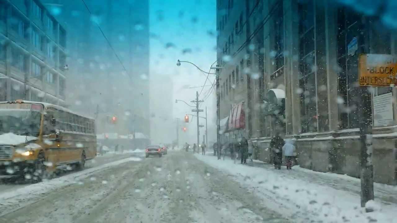 Snow Storm Toronto: TORONTO SNOW STORM DRIVING MAR 12, 2014