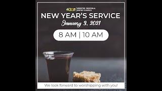 Sunday Service  January 10th 2021