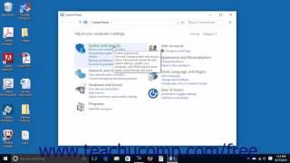 Windows 10 Tutorial The Control Panel Microsoft Training