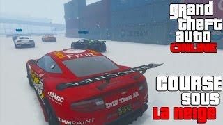 GTA ONLINE - Course sous la Neige Hardcore