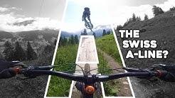 The Best Bike Park I've Ridden! Switzerland's A-Line