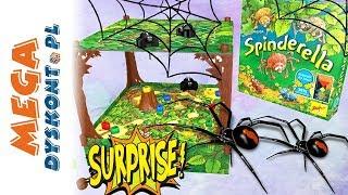 Spinderella ️ Atak pająków ️ Challenge ️ gry dla dzieci
