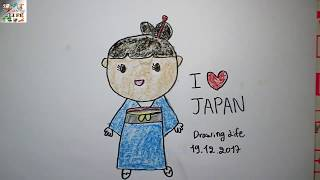 japanese easy drawing draw step