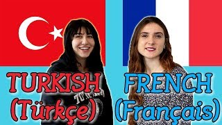 Similarities Between Turkish and French
